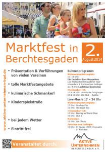 Programm Marktfest 2014