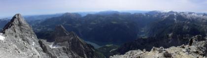 Panorama an der Südspitze