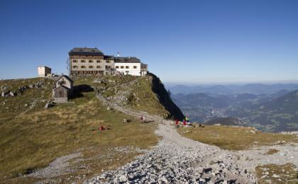 Bergtour aufs Watzmannhaus