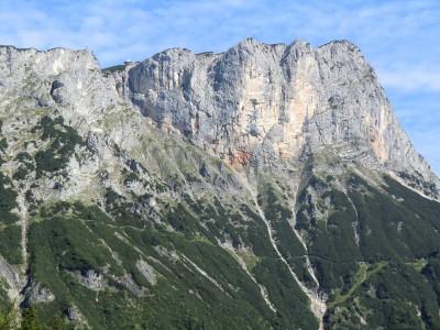 Blick zum Untersberg/Berchtesgadener Hochthron