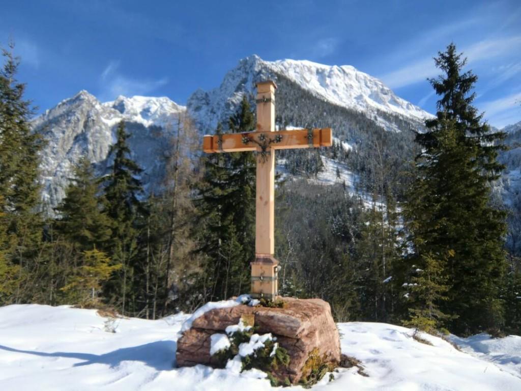 Gipfelkreuz am Brandkopf