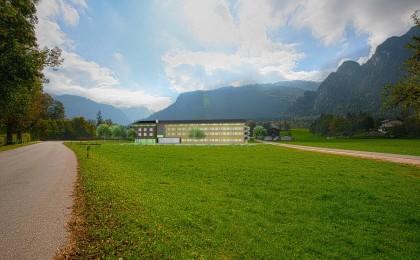 Fotomontage: Explorer Hotel Berchtesgaden