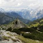 Pfaffenkegel mit steinernen Meer und Watzmannostwand