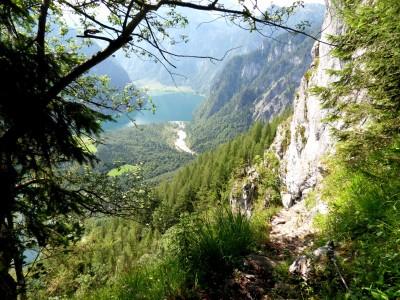 Blick vom Rinnkendlsteig zum Königssee