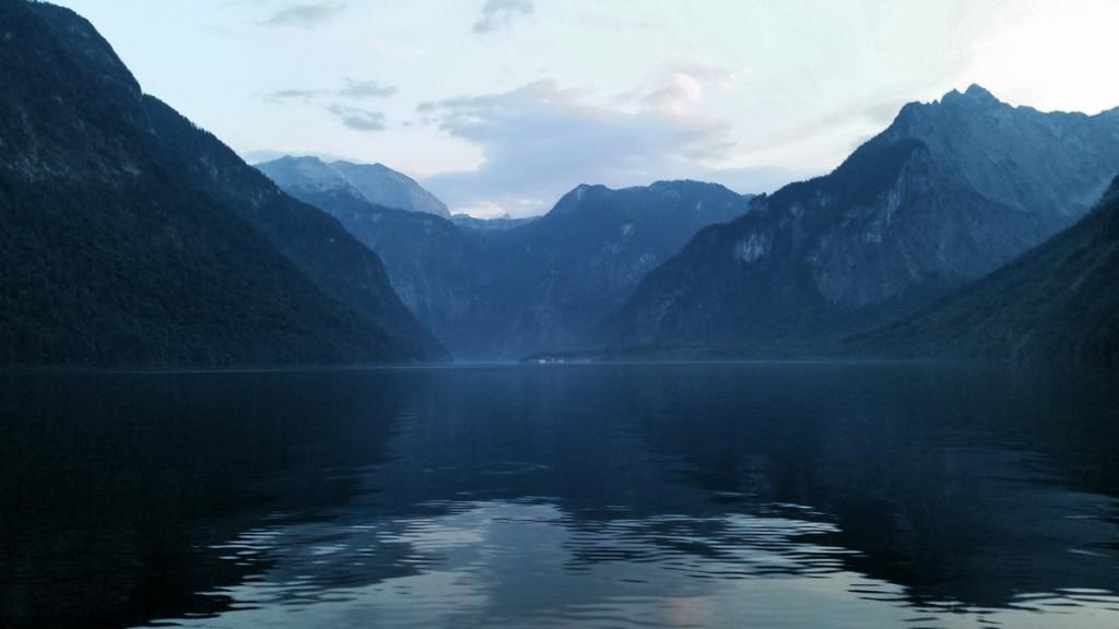 Fischerfahrt über den Königssee