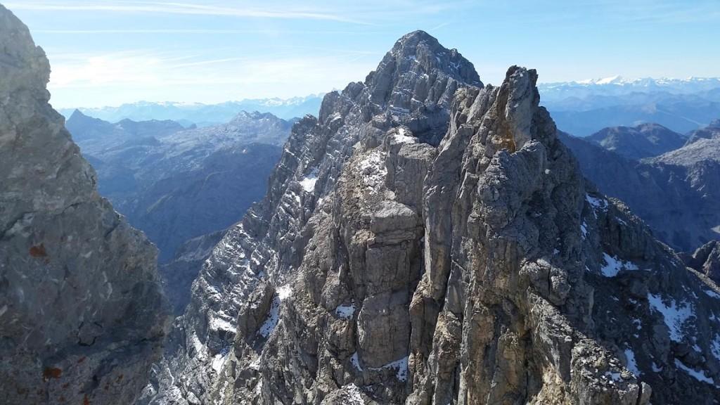 Zwischen Mittel- und Südspitze