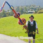 Bauer Franz Stanggassinger ist froh über den guten Sommer auf der Alm