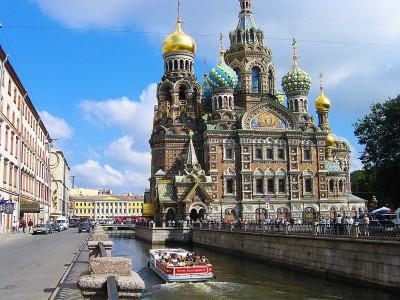 Christi-Auferstehungskirche in St. Petersburg