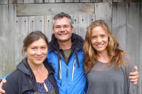Von links: Eva Mattes, Regisseur Michael Kreindl und Patricia Aulitzky