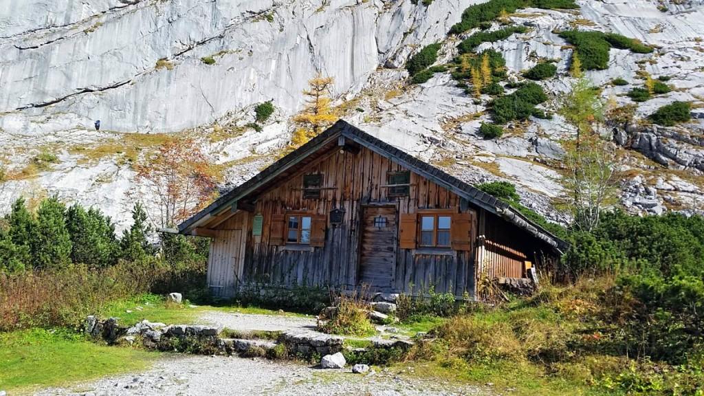 Hütte an der Blaueishütte
