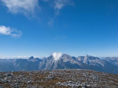 Auf dem Gipfelülateau