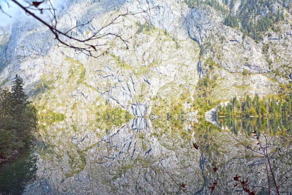 Spiegelung im Obersee