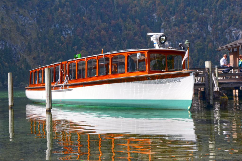 """St. Bartholomä"" der Königssee-Flotte"