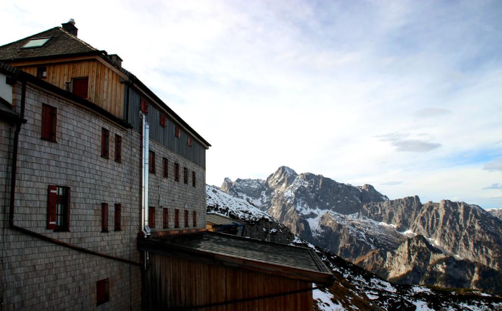 Terrasse des Watzmannhauses