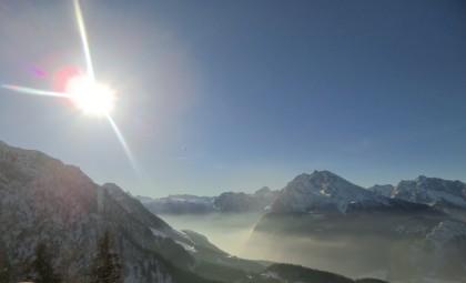 Nebelschleier über dem Königssee
