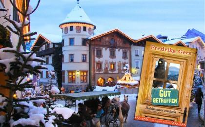 Gut Getroffen von Fredrika Gers: Ein Berchtesgadener-Adventskrimi