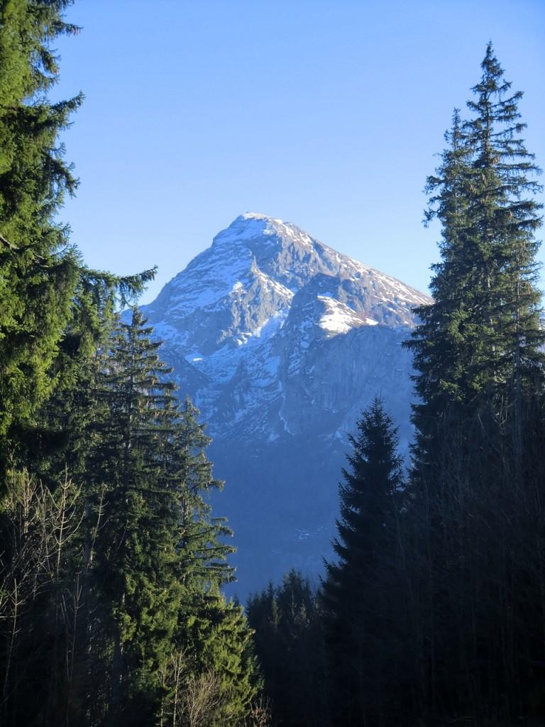 Kahlersberg beim Aufsteig über Bobbahn Königssee