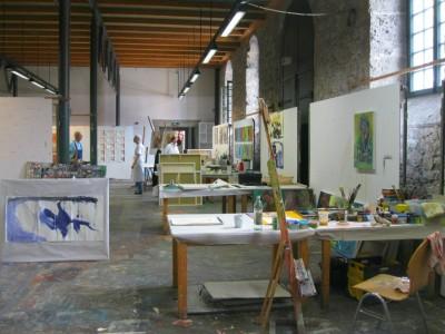 Atelier in der Kunstakademie Bad Reichenhall
