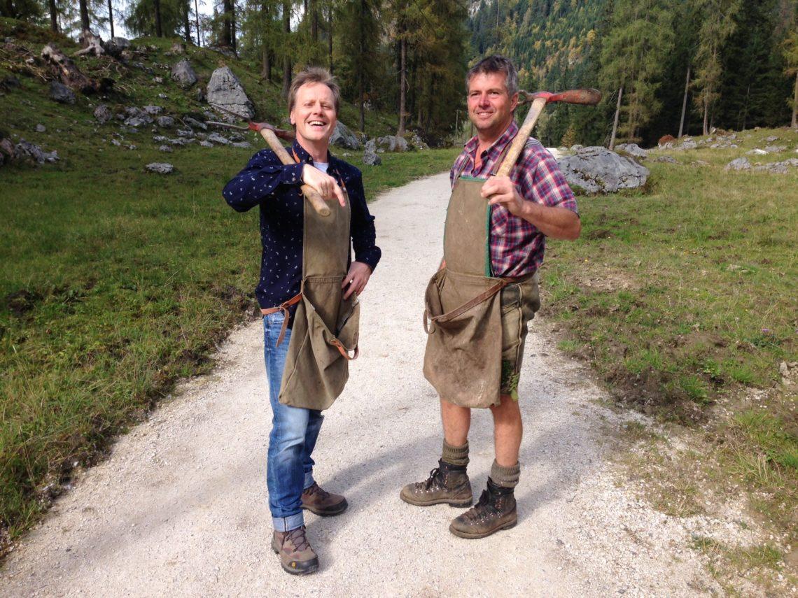 Stefan mit Bergbrenner Hubert Ilsanker