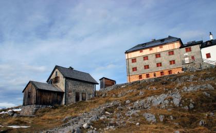 Das Watzmannhaus 1.915m