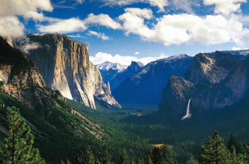 Der Yosemite Nationalpark in Kalifornien