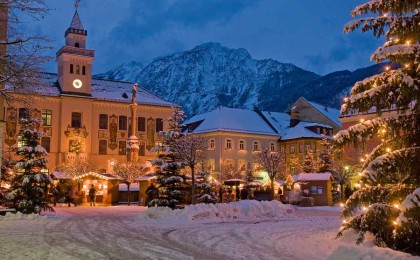 Advent am Bad Reichenhaller Rathausplatz