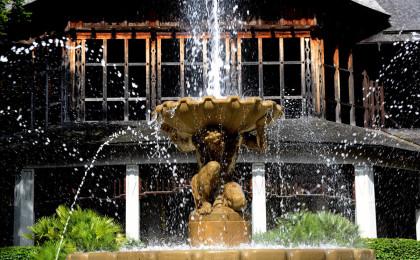 Brunnen im Königlichen Kurgarten Bad Reichenhall © Dr. Bernhard Graf