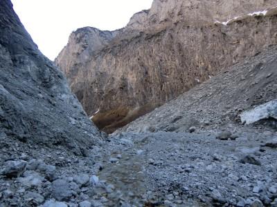 Wanderweg zur Eiskapelle