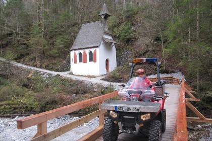 Das ATV der Bergwacht Berchtesgaden © BRK BGL
