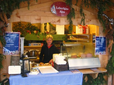 Leberkäs-Alm auf dem Berchtesgadener Advent
