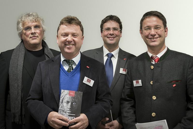 v.l.n.r.: Christoph Adt, Peter Demmelmair, Tamás Ferge, Stephan Hüfner