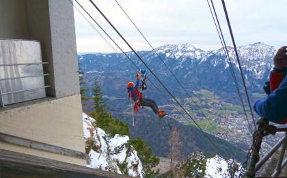 Bergwacht im Einsatz © BRK BGL