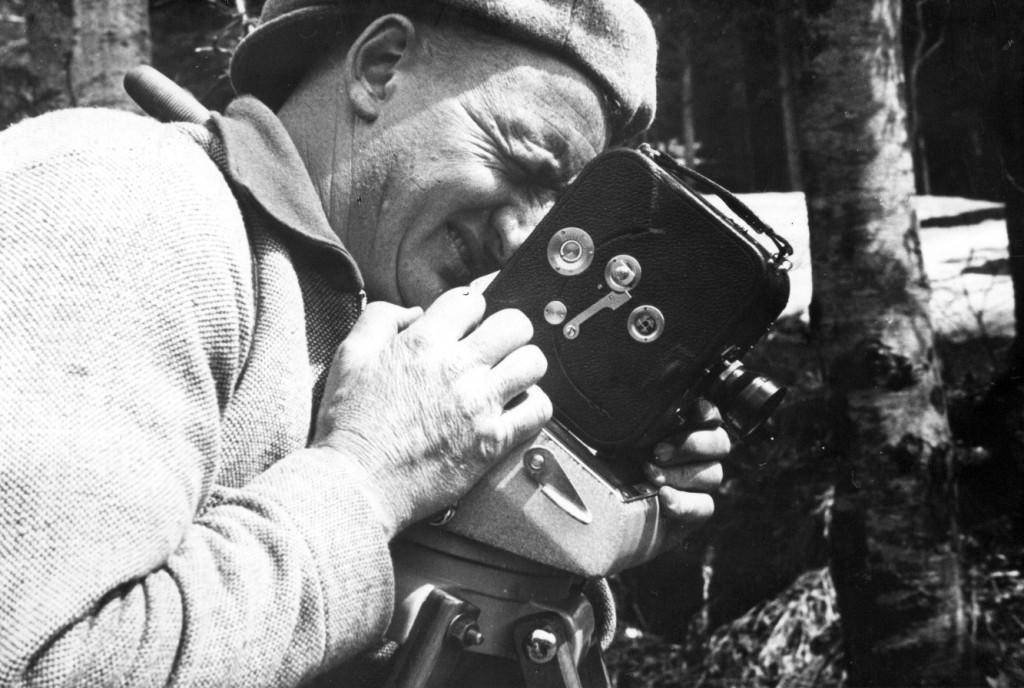 Dreharbeiten für die Reichsbahnfilmstelle, Foto: Deutsche Bahn Stiftung