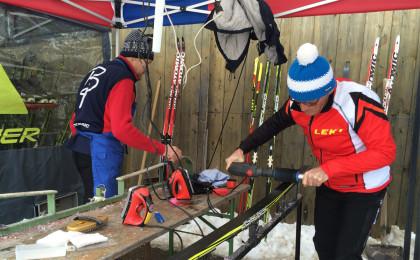 Ski-Wachsen vom Profi