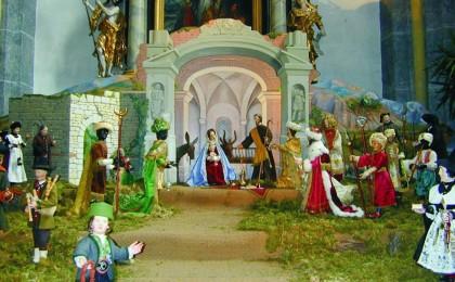 Krippe in der Stiftskirche Laufen