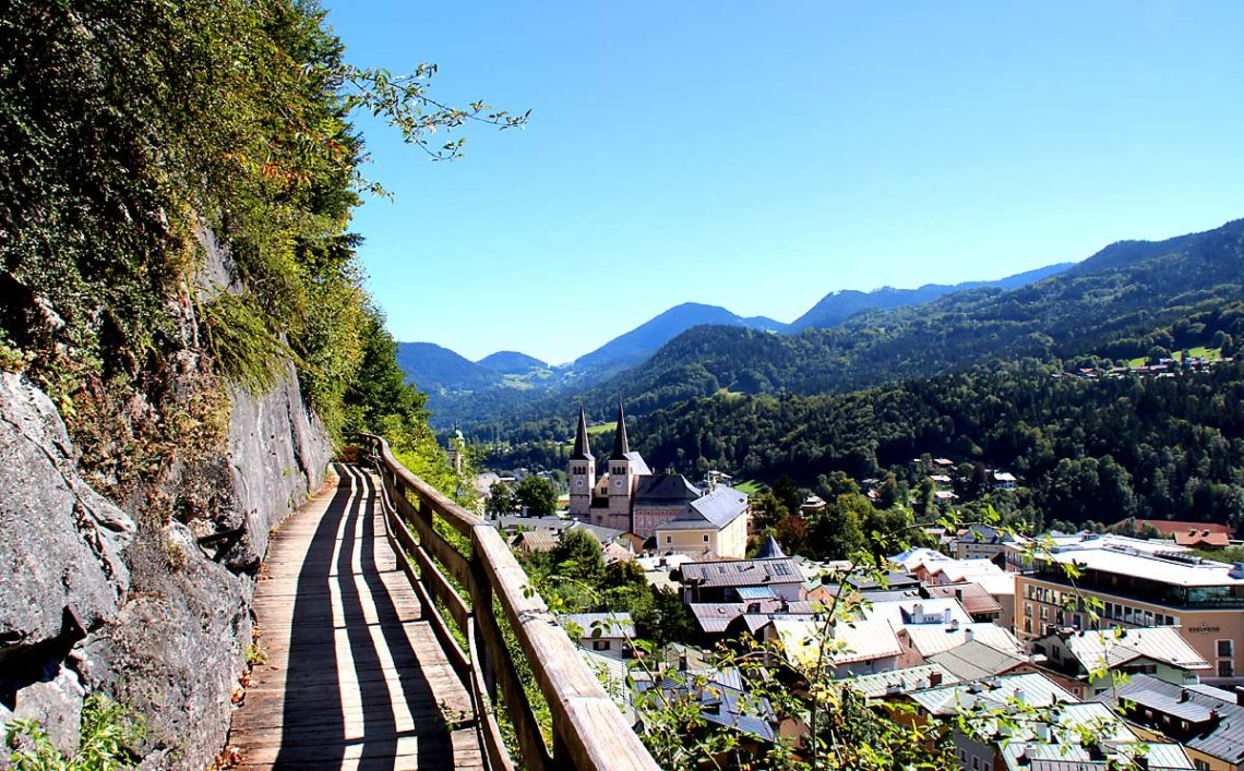 Auf dem Soleleitungsweg Berchtesgaden