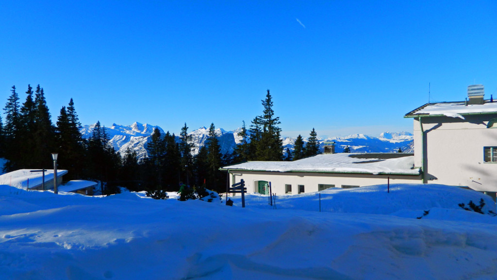 Bergstation der Predigtstuhlbahn
