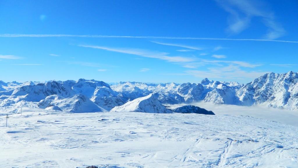 Am Schneibstein-Gipfel