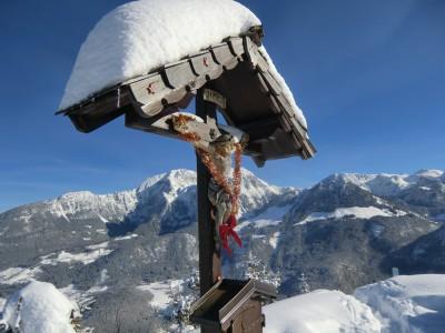 Gipfelkreuz Grünstein