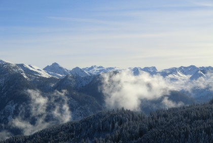 Blick ins steinerne (Winter-)Meer