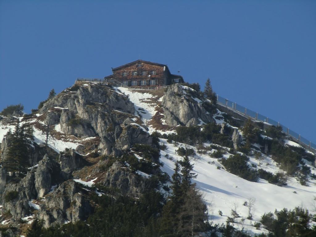 Blick zur Jenner-Bergstation