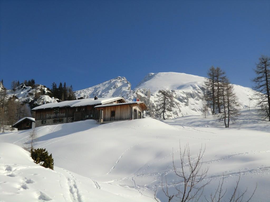 Schneibsteinhaus mit Schneibstein