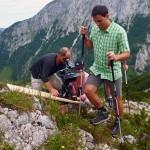 Dreharbeiten Regional-Produkte Film auf dem Jenner