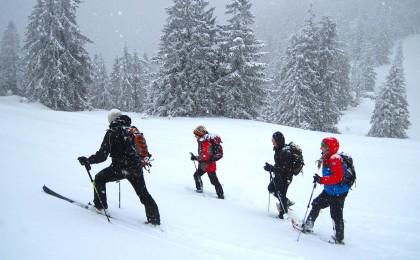 Skitouren abseits der Piste
