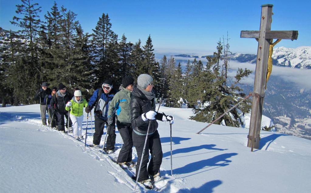 Schneeschuhwandern Predigtstuhl