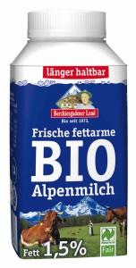 Bio Alpenmilch zum mitnehmen