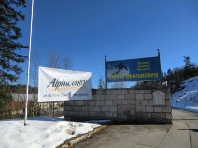 Eingang Skischule und Skigebiet