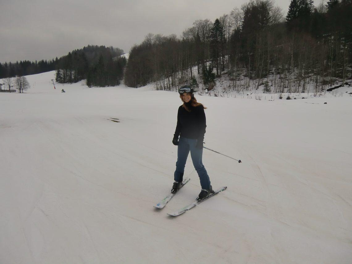 so langsam fühle ich mich sicherer auf den Ski