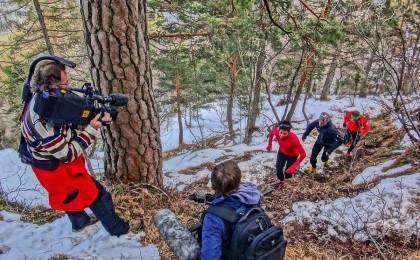 Trailrunner auf dem Weg zum Dötzenkopf