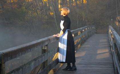 Vroni Springl als Julie Andrews in Höglwörth